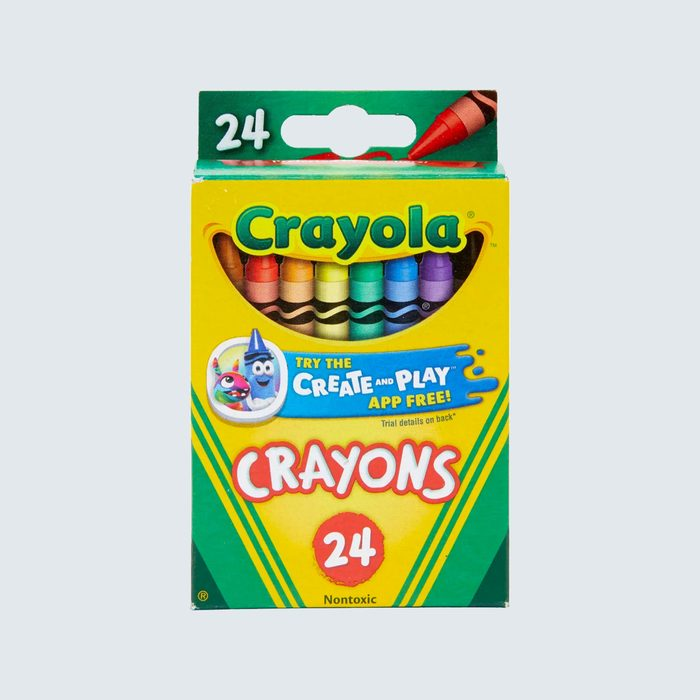 Crayola Crayons are 50¢per pack