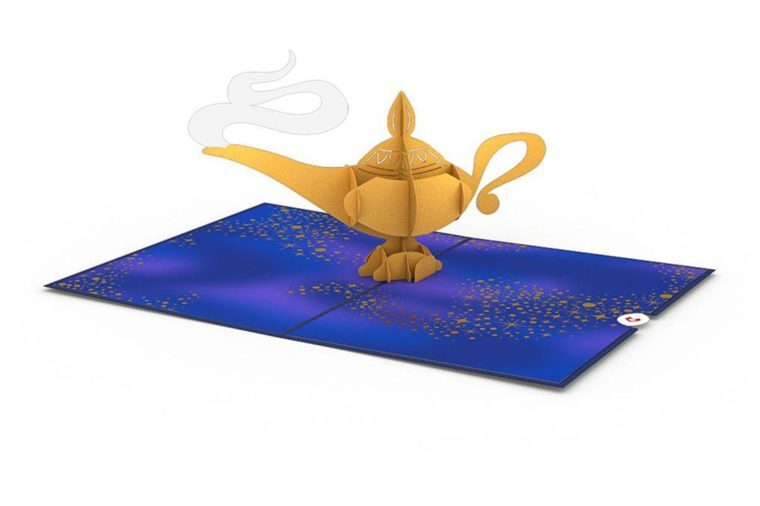 10_Disney's-Aladdin-magic-lamp-3D-card-from-Lovepop