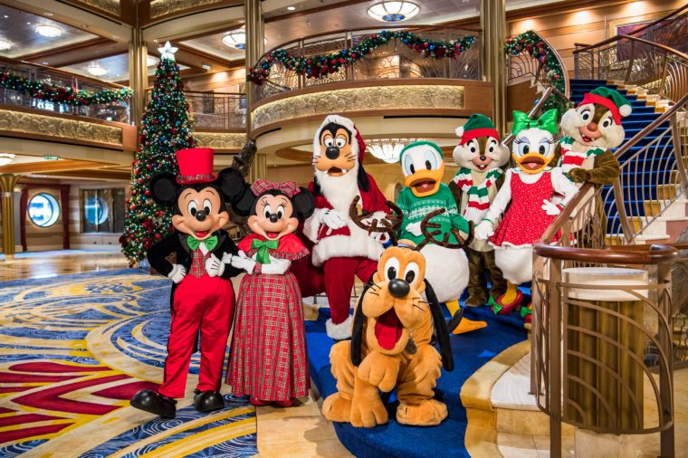 Magical Winter Holidays with Disney Cruise Line