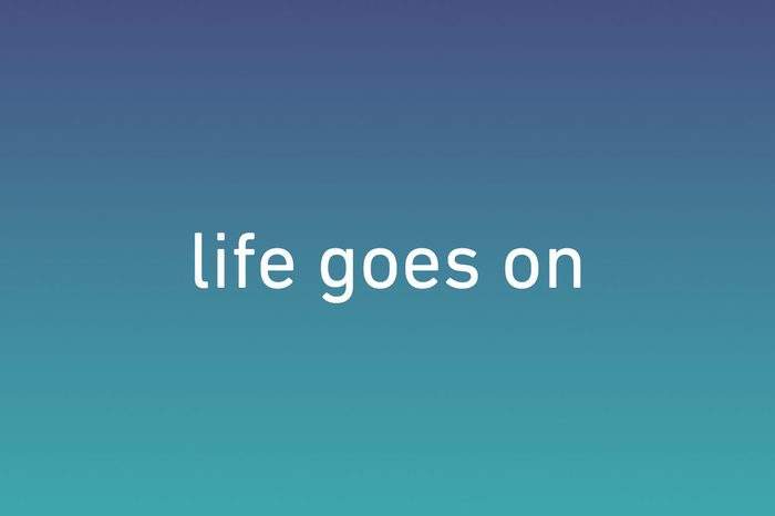 life goes on wallpaper iphone
