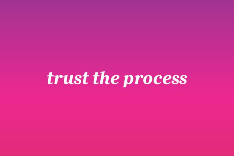 trust the process iphone wallpaper