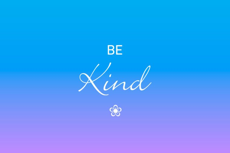 be kind iphone wallpaper