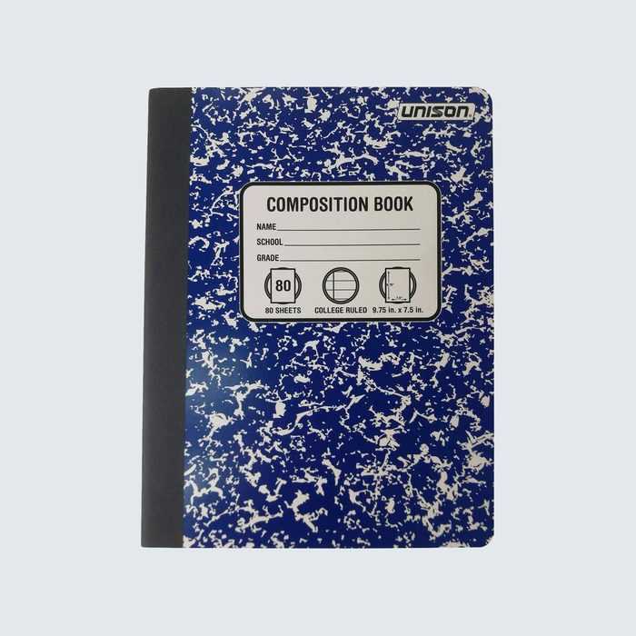 Marble notebooks, cheaper and more cheerful