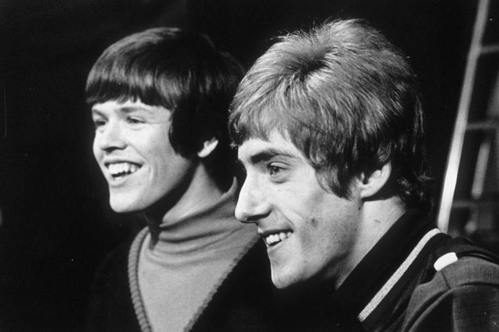 ROGER DALTREY 'THE WHO' WITH PETER NOONE OF HERMANS HERMITS