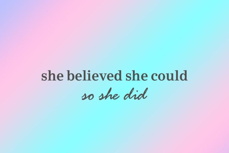 she believed she could so she did iphone wallpaper