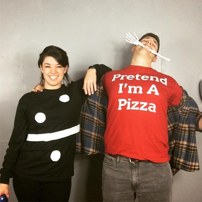 dominos pizza punny costume