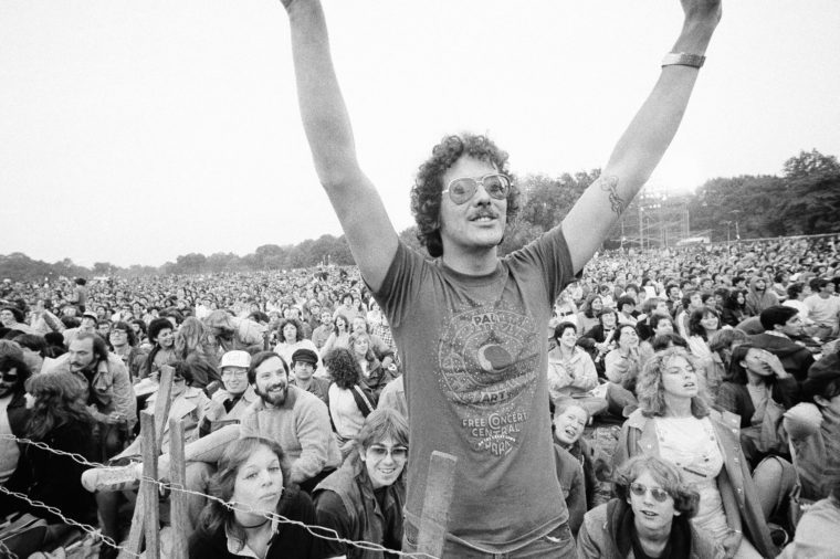 Simon And Garfunkel Fans 1981, New York, USA