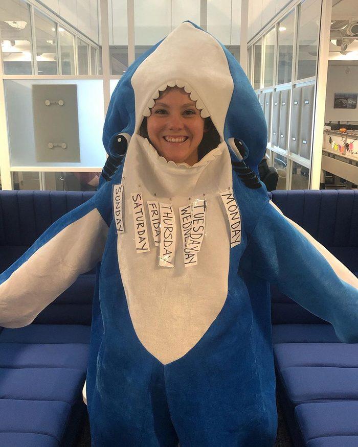 Shark week halloween costume