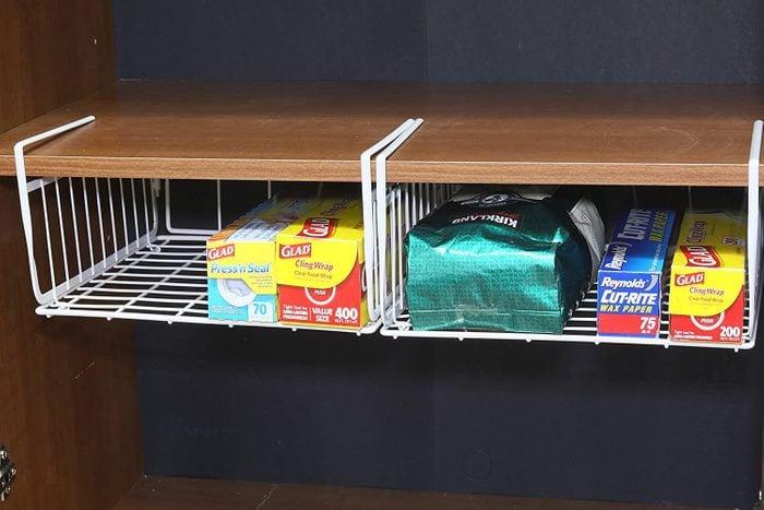 hanging basket shelf