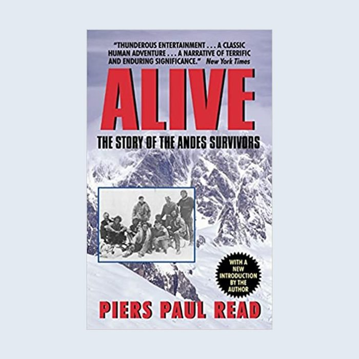 Alive: The Story Of The Andes Survivors Book Cover