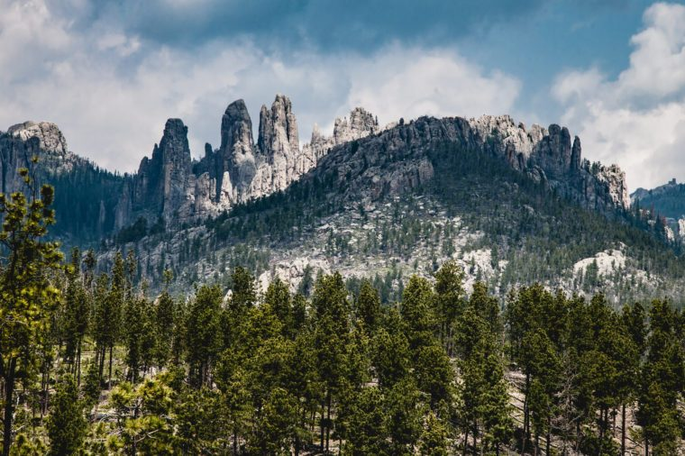 Cathedral Spires, Needles Highway, Custer State Park, South Dakota