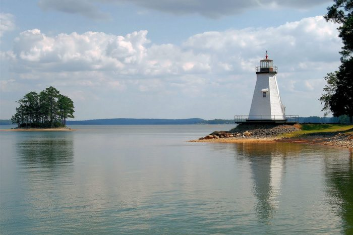 Children's Harbor on Lake Martin Alabama / Island View