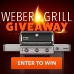 Weber Grill Giveaway