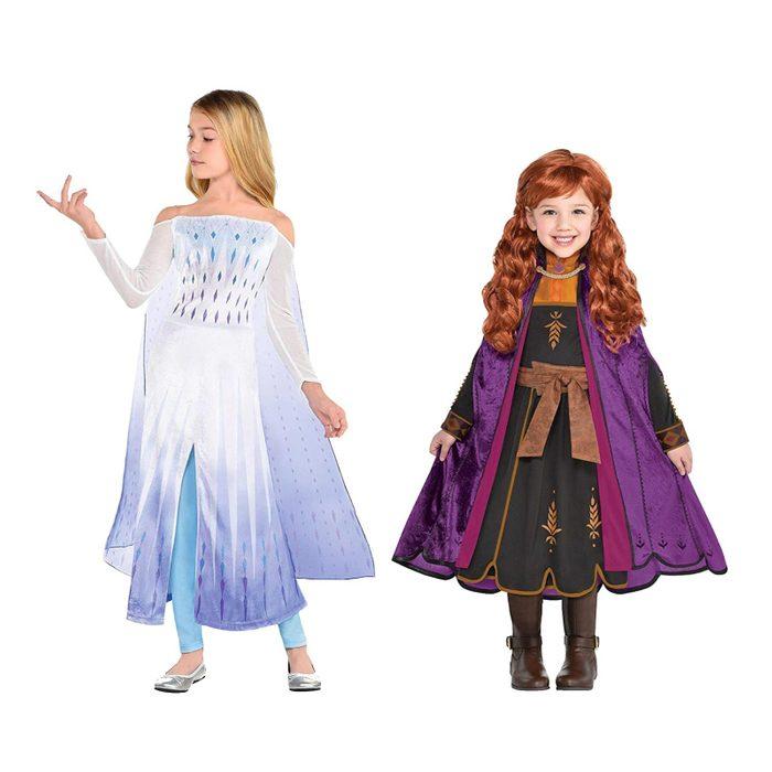 Frozen characters Halloween costumes