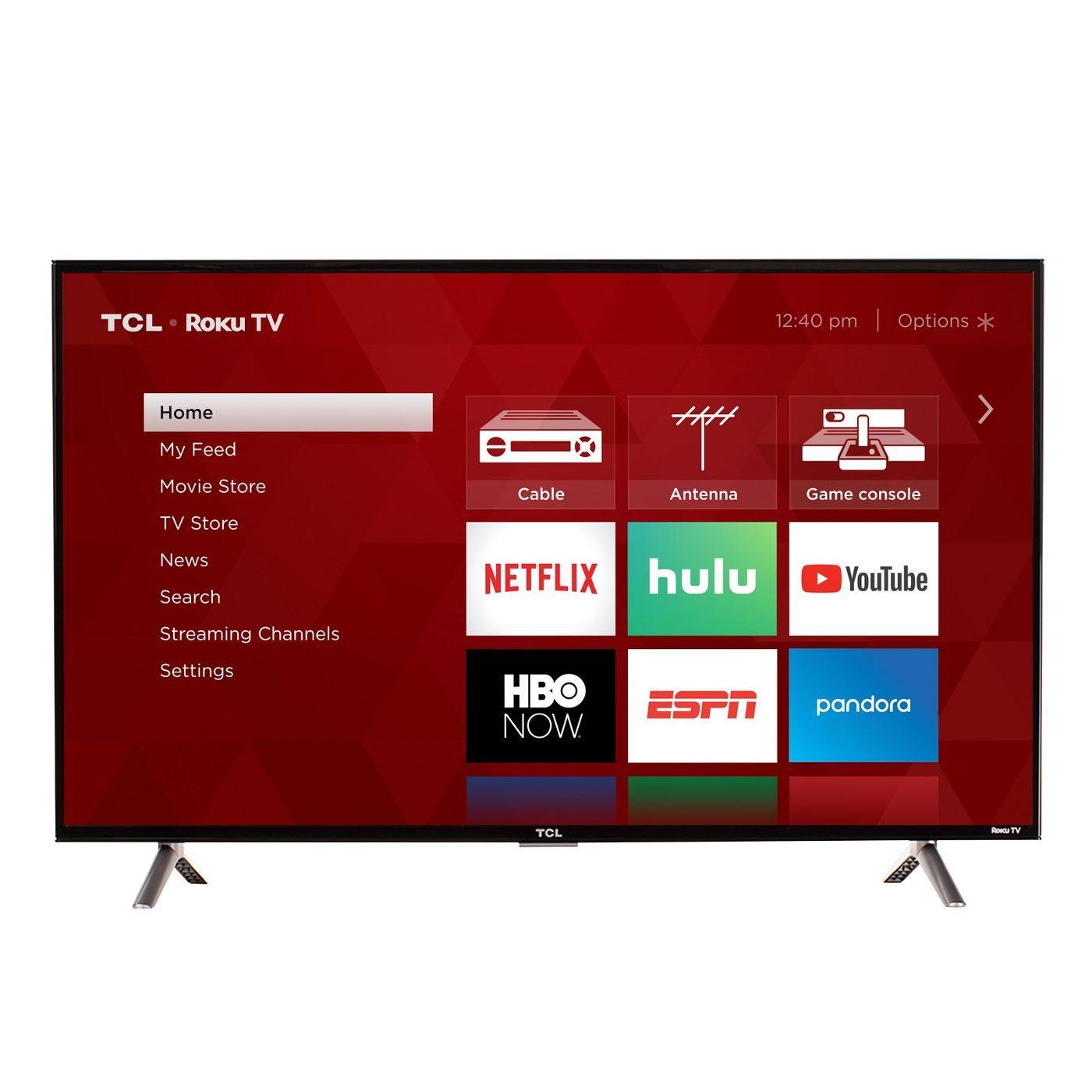 """Home electronics: TCL 32"""" Roku HD LED Smart TV"""