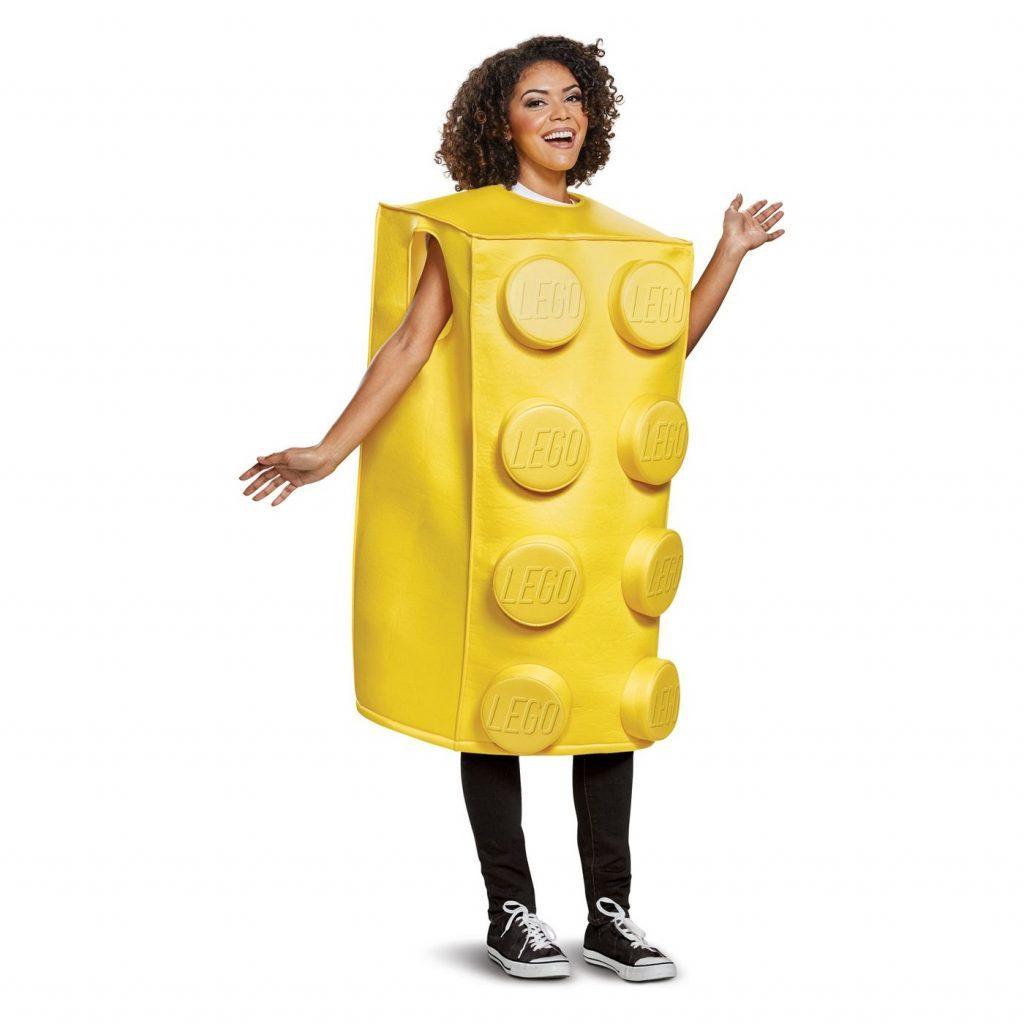yellow lego costume