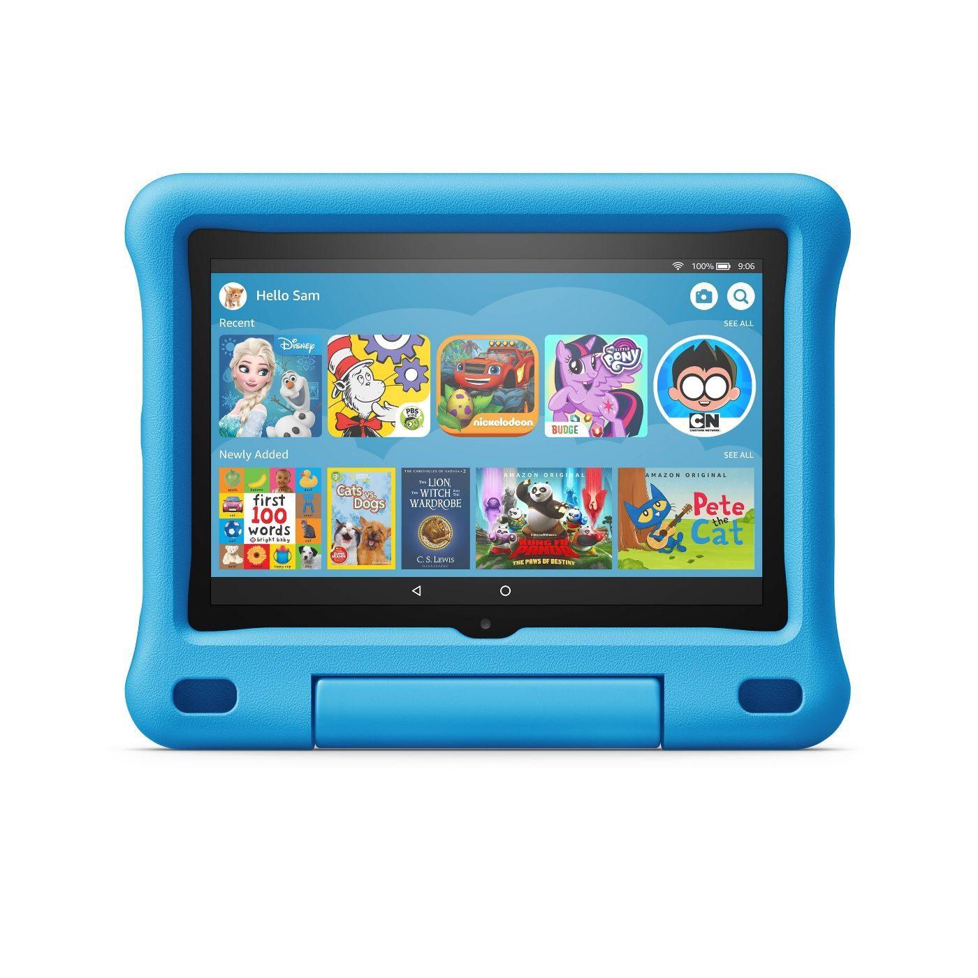 Kids electronics: Amazon Fire HD 8 Kids Edition