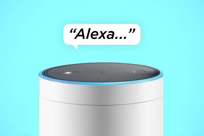 funny things to ask amazon alexa speech bubble over amazon echo smartspeaker