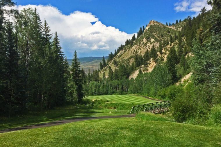 Golf in Vail Beaver Creek Colorado