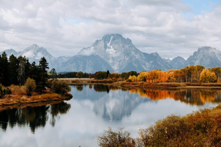Reflection of the Grand Tetons