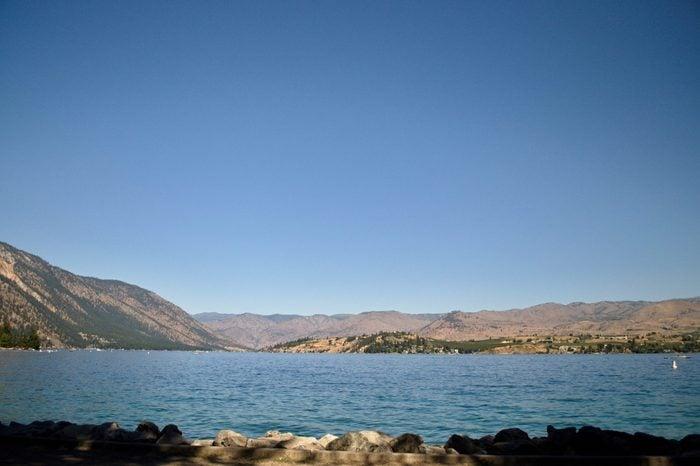 Lake Chelan in summer