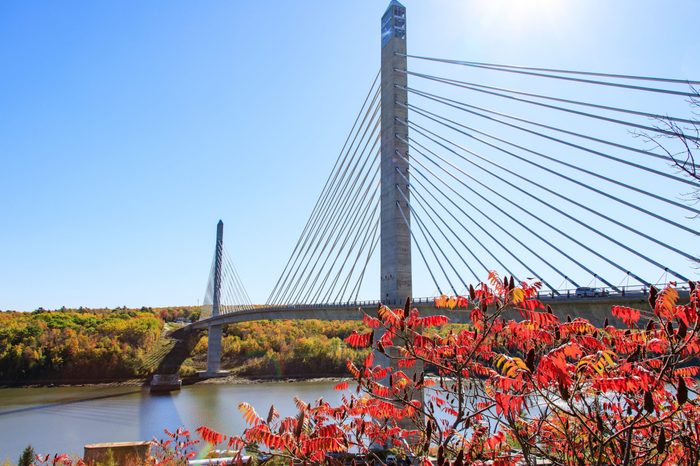 ME, Prospect, Penobscot Narrows Bridge
