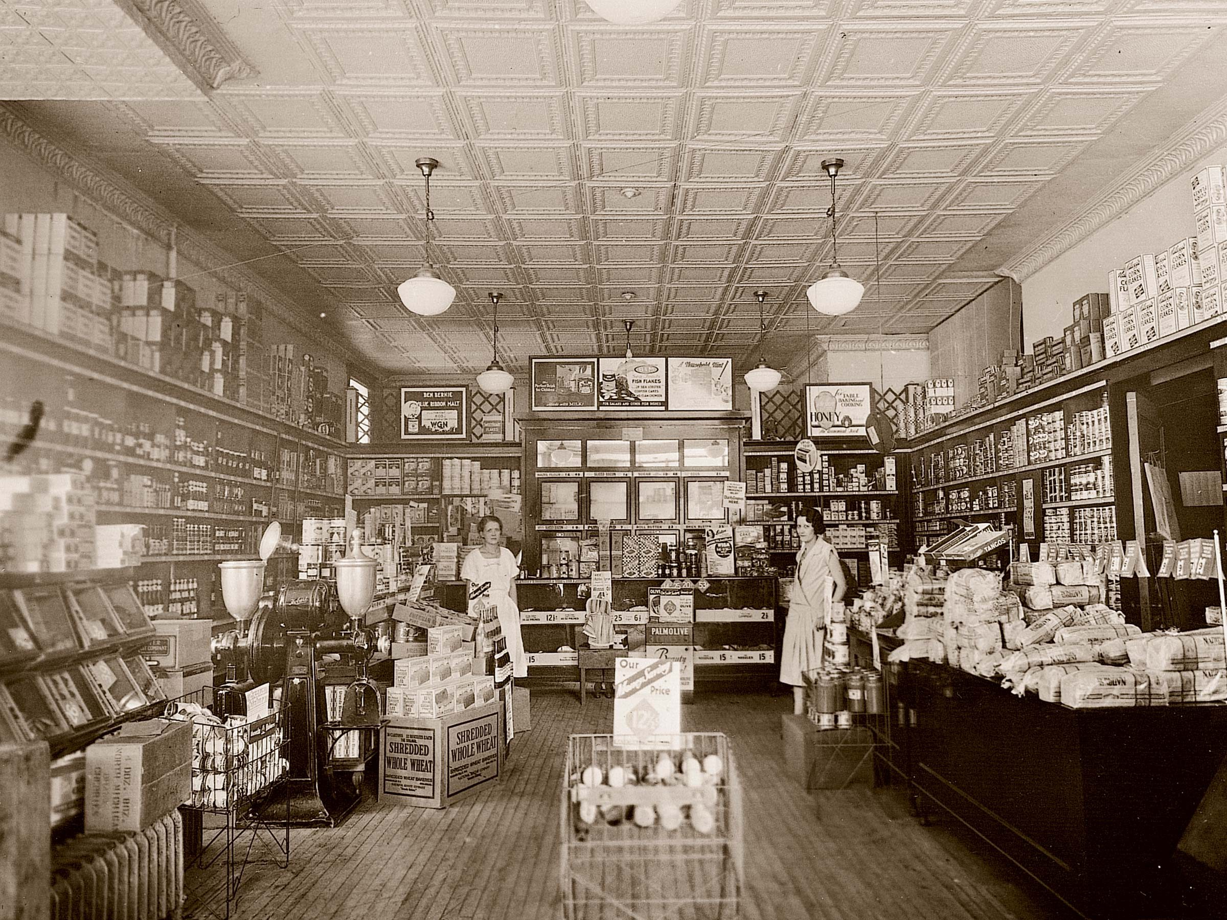 vintage grocery store