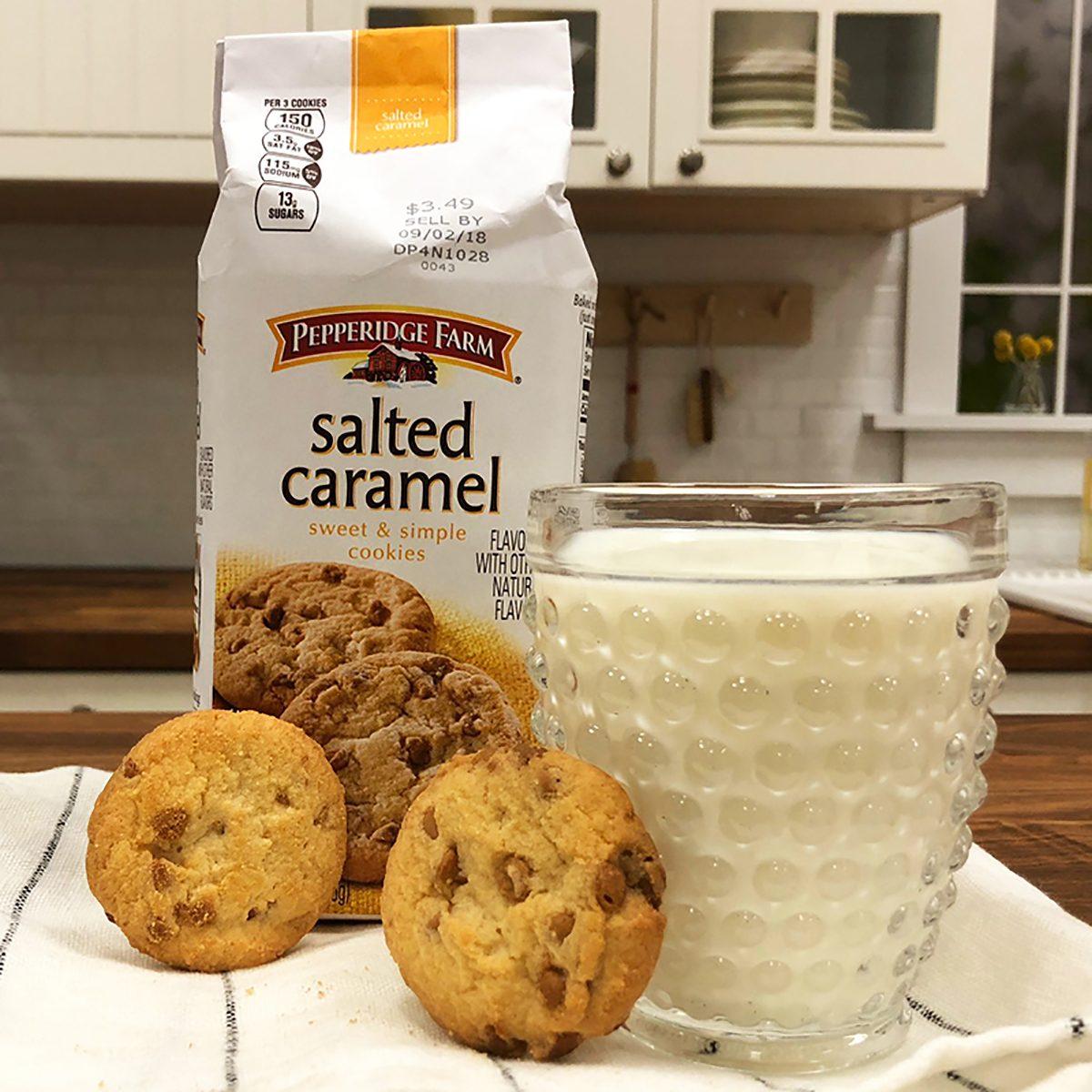 Pepperidge Farm Salted Caramel Cookies