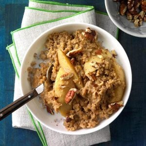 Michigan: Spiced Apple Oatmeal