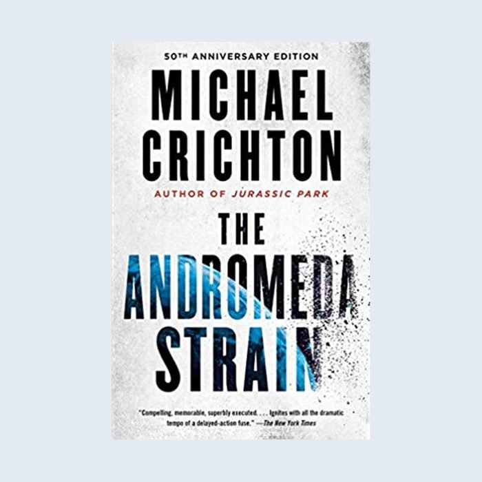 The Andromeda Strain Book Cover