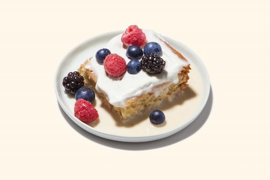 Easy Tresleches Cake, Milk