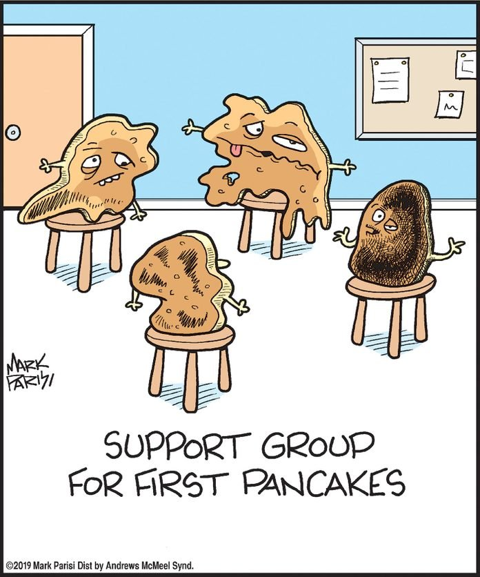 support group for first pancakes