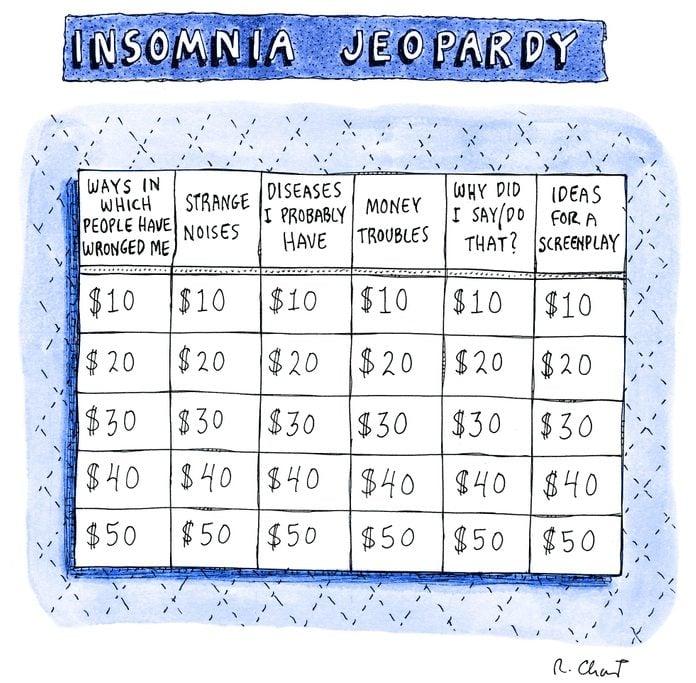 "jeopardy board entitled ""insomnia jeopardy"""