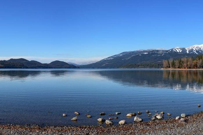 Whitefish Lake, Montana Panorama