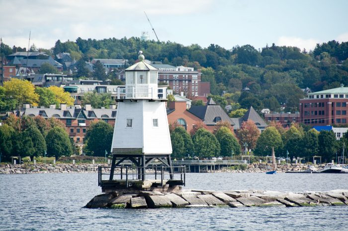 With 40,000 residents, Burlington, Vermont is the largest city in the state.