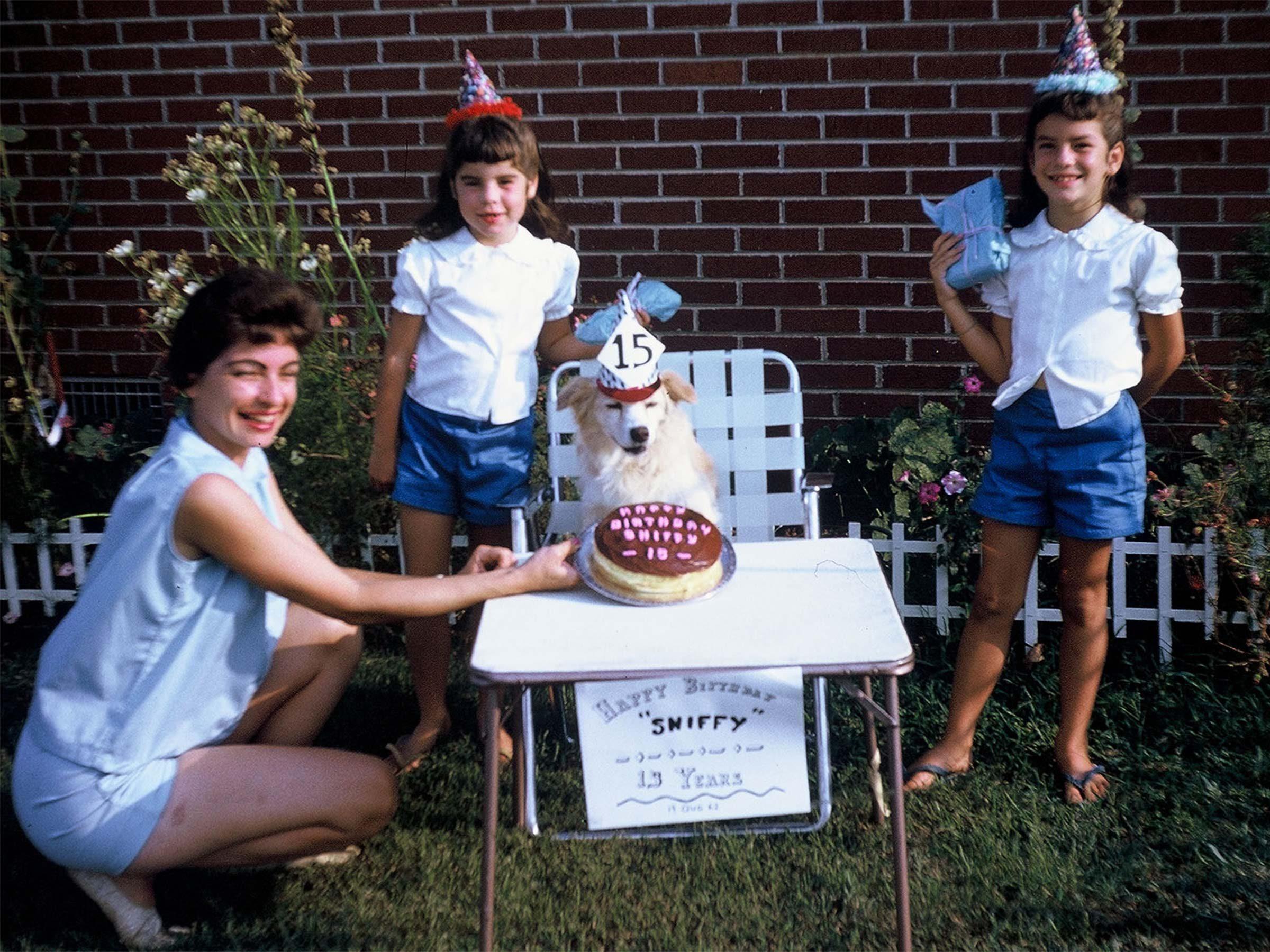 vintage dog birthday party