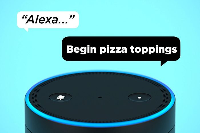 Alexa Begin Pizza Toppings