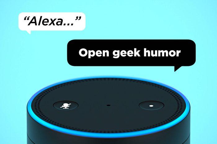 Alexa Open Geek Humor