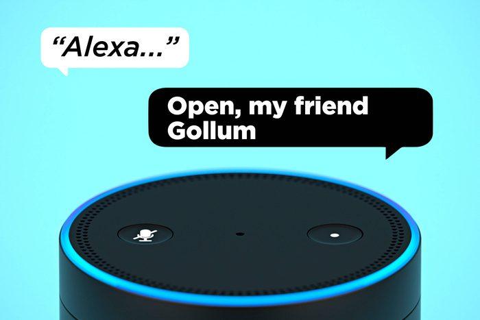 Alexa Open My Friend Gollum