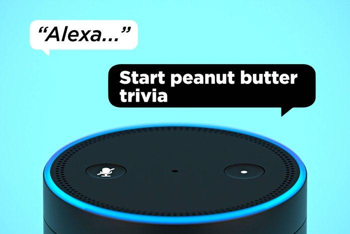 Alexa Start Peanut Butter Trivia