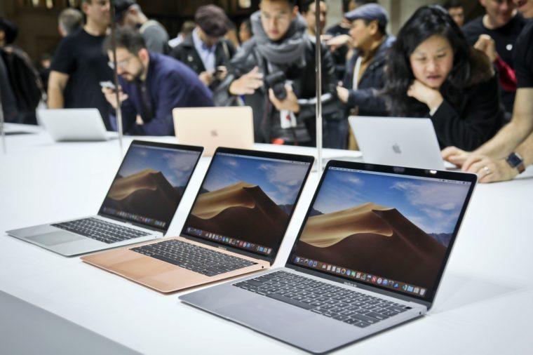 Apple's new MacBook Air computers