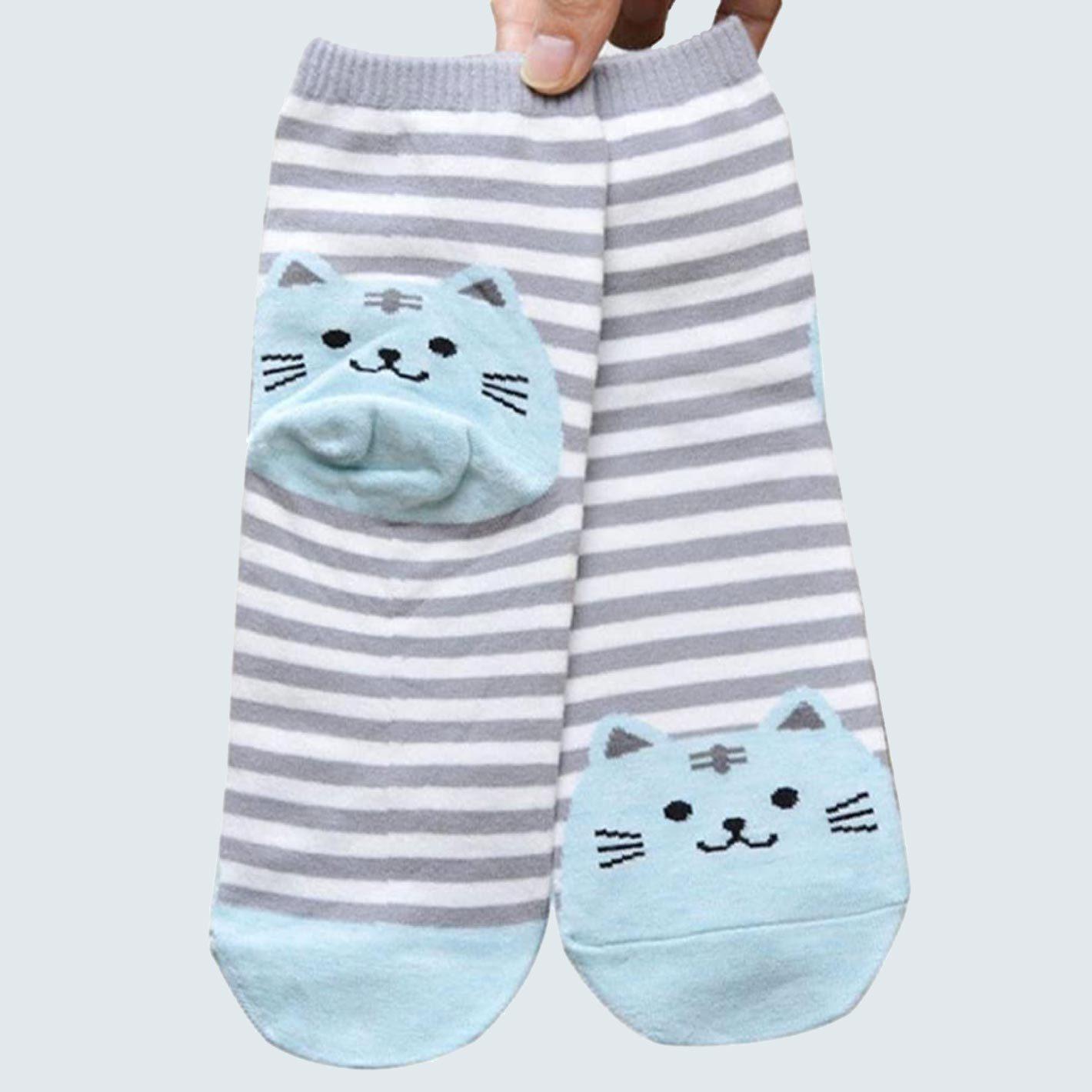 cozy cat socks