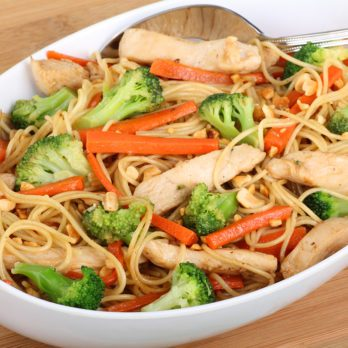 How to Make Chicken Lo Mein That's Way Better Than Takeout