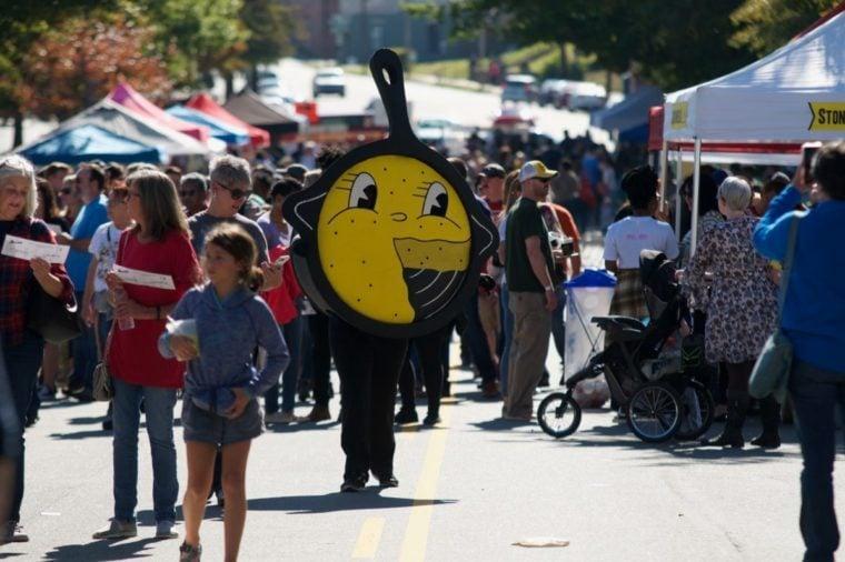 cornbread festival