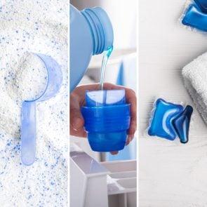 Powder vs. Liquid vs. Pod Detergents