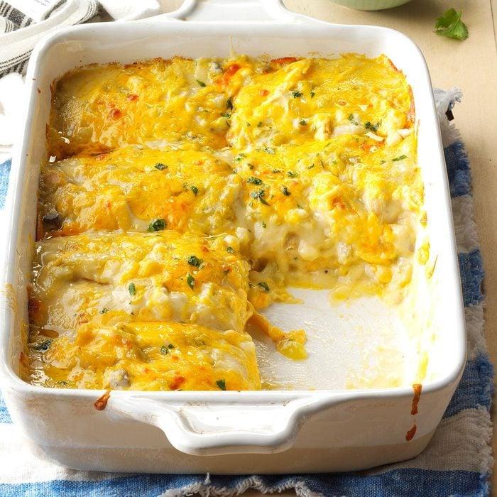 New Mexico: Chicken Tortilla Bake