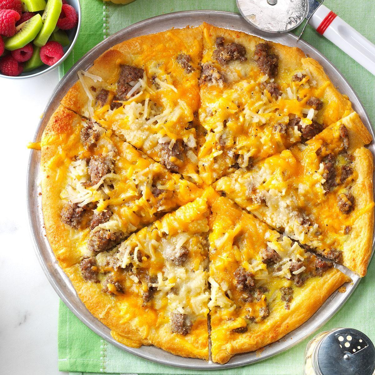 Washington: Sausage and Hashbrown Breakfast Pizza