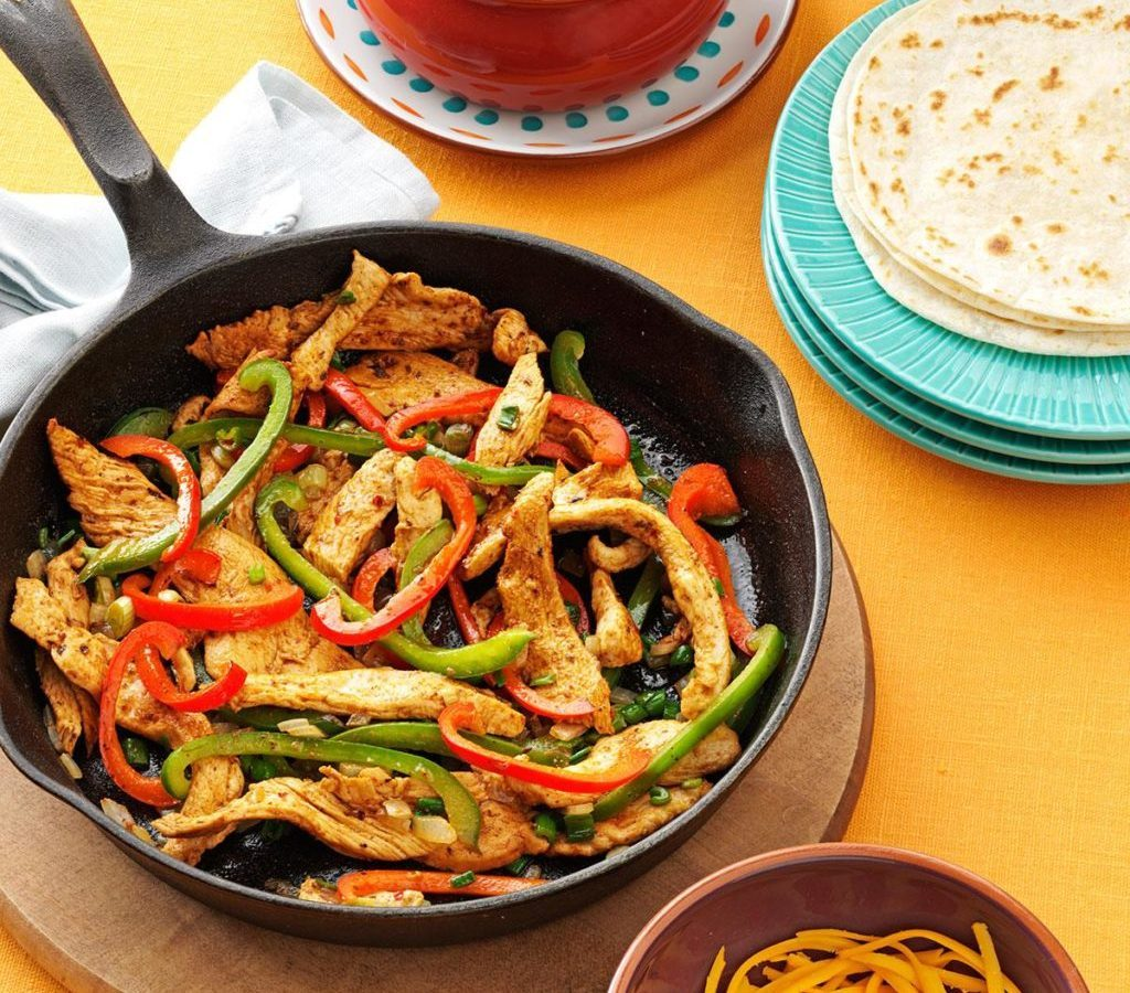 Over 6,000 People a Day Are Viewing This Chicken Fajita Recipe