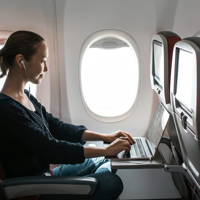 What Could Happen If You Don't Stow Your Laptop on a Flight?