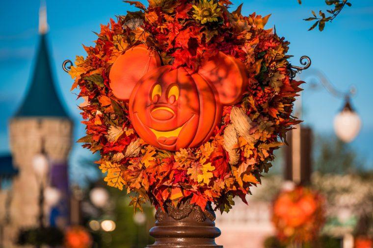WonderFALL Experiences at Walt Disney World Resort